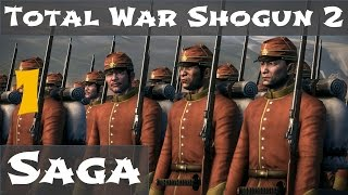 Total War Shogun 2 Fall of the Samurai Saga Campaign 1