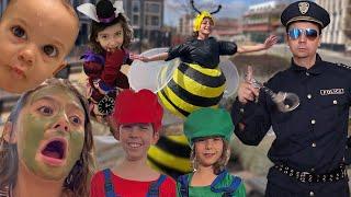 هربت النحلة وجات الشرطة!