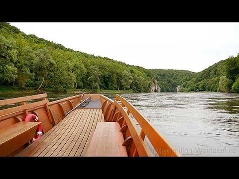Danube breakthrough between Weltenburg and Kelheim