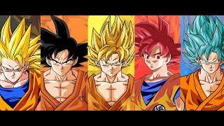 Todas las Tecnicas de Goku español latino