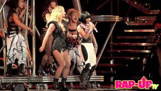 Britney Spears x Nicki Minaj Perform Live in L.A.