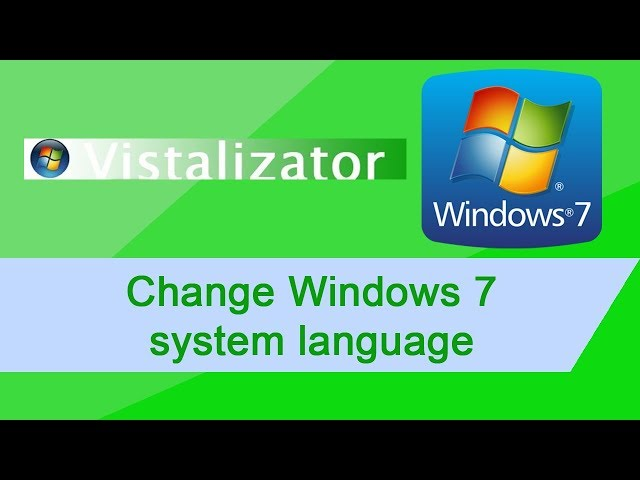 7 TÉLÉCHARGER GRATUIT FRANCAIS WINDOWS VISTALIZATOR