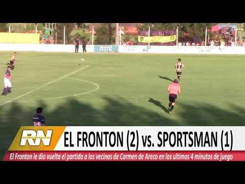 El fronton vs. Sportsman ( Carmen de Areco)