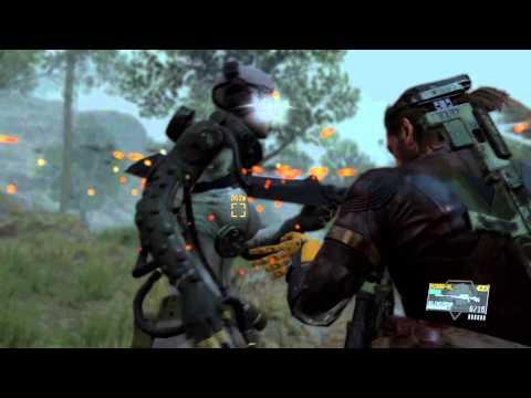 MGS5 kill a skull sniper CQC