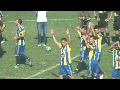 Defensores de San Marcos sud vs. Sarmiento de Leones (1-0) Defensores Campeon 2019 liga Bellvillense
