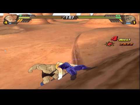 Dragon Ball Z: Budokai Tenkaichi 3 gameplay Dolphin Full Speed 2013/DUAL CORE