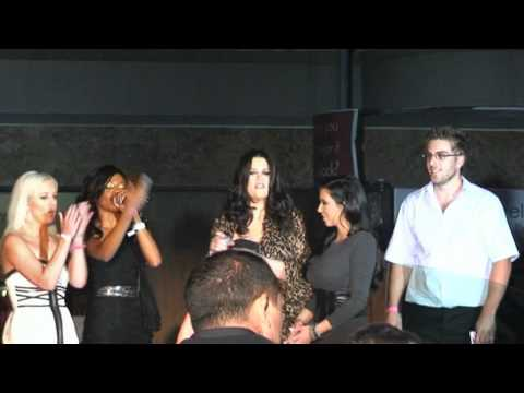 Kim and Khloe Kardashian at Brutal Fruit Launch in Johannesburg, South Africa