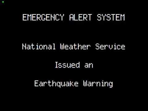 Earthquake Warning: Nevada