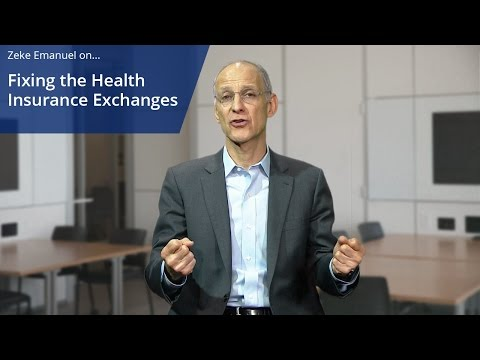 Fixing the Health Insurance Exchanges