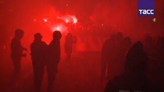 Зажигательный футбол в Мадриде