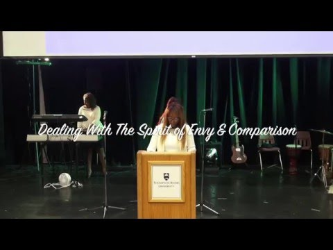 Lady Rue Judith  - Dealing With The Spirit Of Envy and Comparison