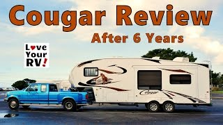 Keystone Cougar Review after 6 Years of Full Time RVing