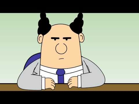 Dilbert Animated Cartoons - The Vicious Cycle, It's Called Managing and Documented Process