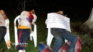 Con tiro de gracia, los 7 asesinados en Uruapan thumbnail
