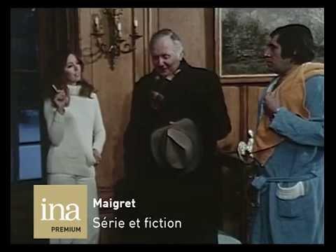 Les Enquêtes du Commissaire Maigret  Disponible sur INA PREMIUM