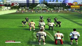 NFL Street 2 HD Pickup Game vs. NFL Legends Hard Mode