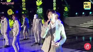 [BTOB/ソンジェ (日本語字幕)]春の日の記憶で歌詞を間違えるユクソンジェ thumbnail