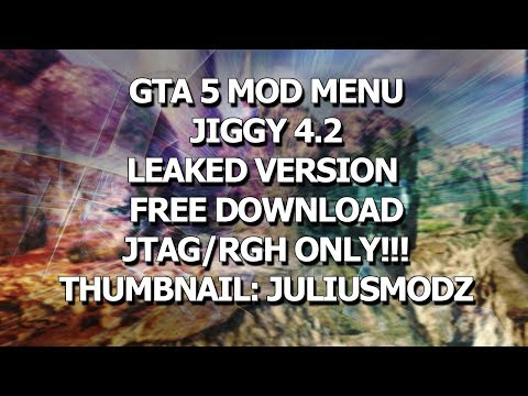[GTA/TU27/JTAG/RGH] Jiggy 4.2 (IP Spoof,Car Spawn African Engine User Freeze,More!) +FREE DOWNLOAD!