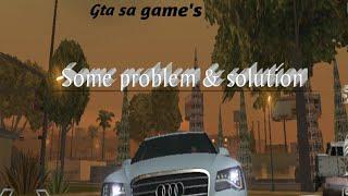 Gta Sa game