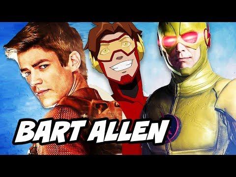 The Flash Seas 4 Episode 1 Bart Allen Reverse Flash Scene Explained