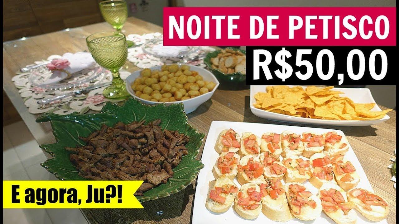 664d2c1e7f86c1 NOITE DE PETISCO GASTANDO APENAS R$50,00 - DESAFIO