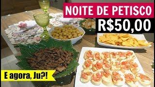 NOITE DE PETISCO GASTANDO APENAS R$50,00 - DESAFIO