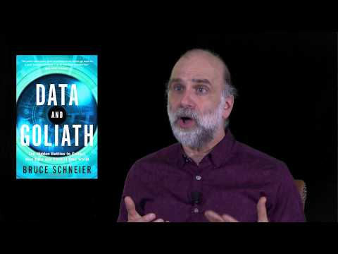 Bruce Schneier presents Data and Goliath Video (Author