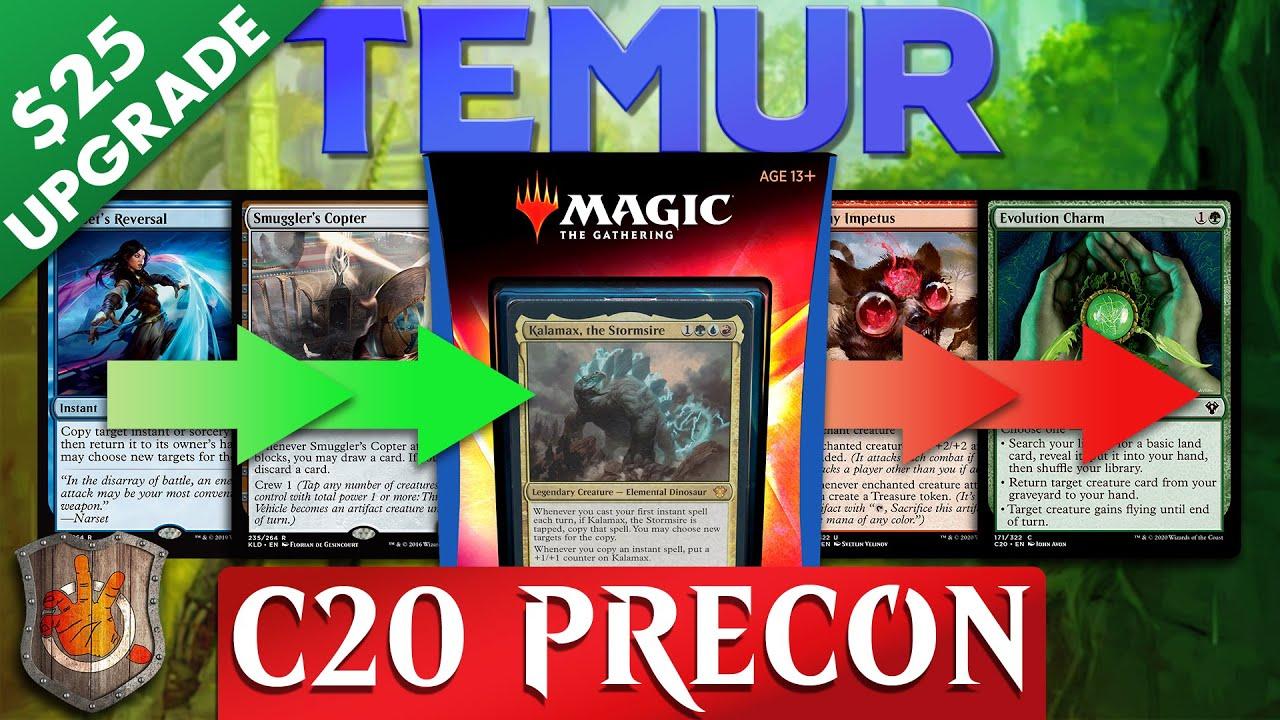 Download Temur Instants Matter - Precon Upgrade Guide   C20   The Command Zone #320   Magic: The Gathering