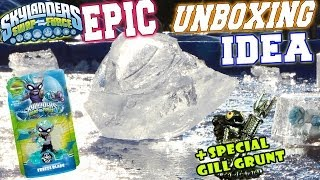 The Freeze Blade Epic Unboxing Idea / Special Edition Gill Grunt Is Here! (Skylanders Swap Force)