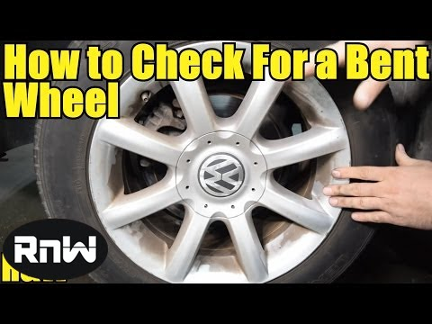How to Check for a Bent Wheel