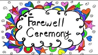 1st Term 2020-21 Planning Meeting, Farewell Ceremony and Appreciation ceremony 22-06-2020.