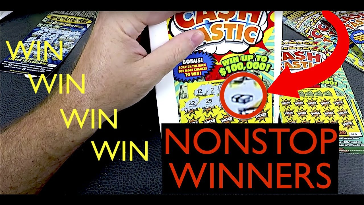 NO WAY !!! How To Win On Scratch Off Lottery Tickets *EVERY TIME GUARANTEED* - YouTube