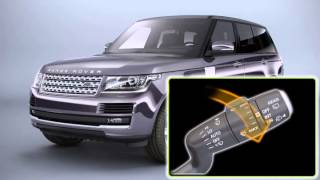 How to - Range Rover (2013) - Vehicle feature: Windscreen wipers