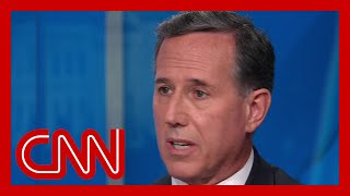 """No elected Republican will stand behind Trump's statement"": Santorum weighs in on Trump briefing"