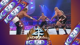 Zack Ryder's Iced 3 PT 3 - July 2013 - Cena v Angle v Michaels - Taboo Tues. 11/1/05 -  FULL MATCH