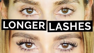 Grow Longer Lashes in 30 Days!