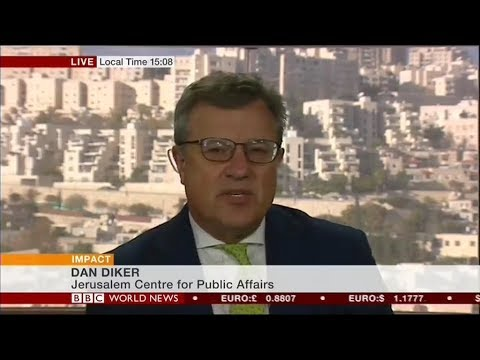Dan Diker assesses the Trump Recognition of Jerusalem as Israel's Capital on BBC World