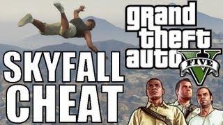 "Best GTA 5 Cheat!! - Skyfall aka Superman - Xbox & PS3 ""GTA V Gameplay"" Grand Theft Auto V"