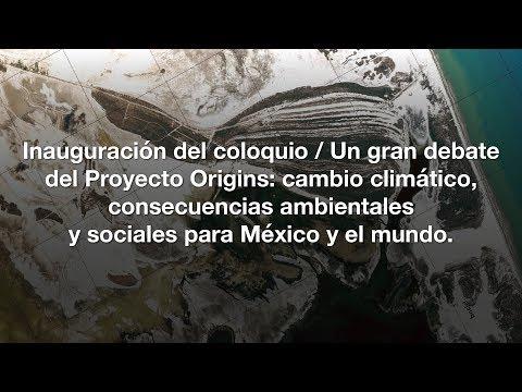 Inauguración / Un gran debate del Proyecto Origins...