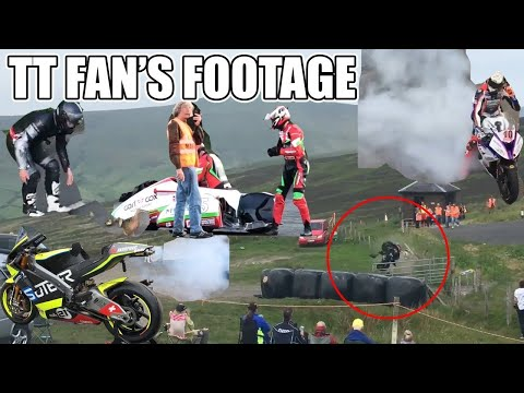 Isle Of Man TT 2018 | Fan's Footage Highlights & Crashes