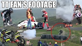 Isle of Man TT 2018 | Fan's Footage Highlights & Crashes