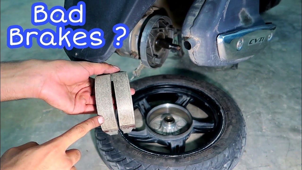 How To Fix Drum Brake Noise In Any Scooter