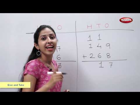 Addition of Three Digit Numbers | Addition | Maths For Class 2 | Maths Basics For CBSE Children