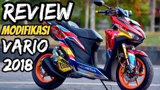 REVIEW MODIFIKASI VARIO 150 MONOSHOCK TENGAH | MOTOR JUARA
