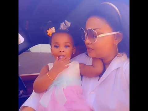 Nana Ama Mcbrown and Baby maxim Kisses again,  mum n dauta moment