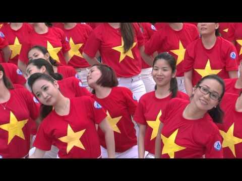 """BV Nhi Đồng 1 tham gia hội thi """"Thể dục đồng diễn chào mừng ngày thầy thuốc Việt Nam 27/02/2016"""