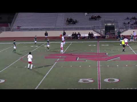 THS boys soccer vs SM game 2nd half actual 40 min