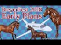 Early BreyerFest 2018 Plans - Travel, Breyer Model Horses, YouTube Meet, etc.