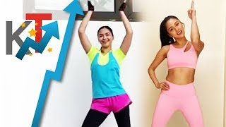Gambar cover Maja Salvador and Kim Chiu will be your zumba instructors for today!