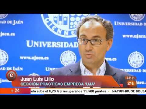 El vivero de empresas de la Universidad de Jaén (UJA) en Emprende de RTVE (24-04-2015)